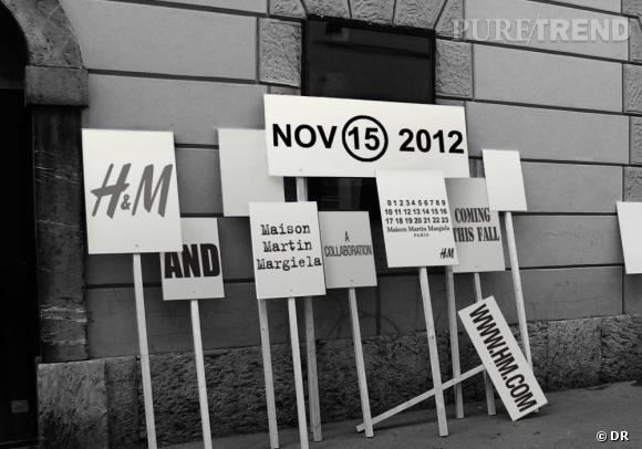 H&M collabore avec Maison Martin Margiela.