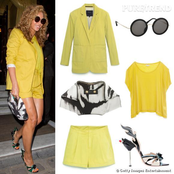 Wanted : le look parisien ensoleillé de Beyoncé !
