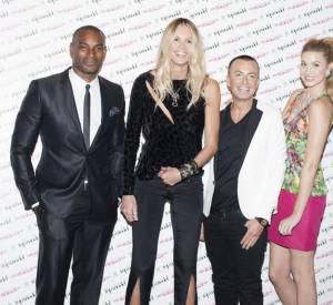 Tyson Beckford, Elle Macpherson, Julien MacDonald et Whitney Port.