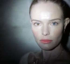 "Kate Bosworth et son clip ""Mistaken for Strangers""."