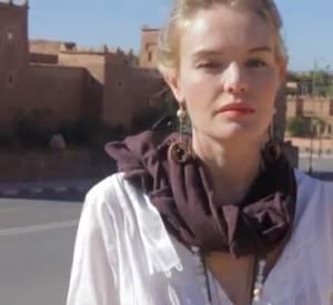 Kate Bosworth cette fois-ci sous le charme du Maroc.