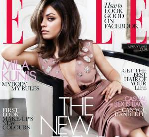 Mila Kunis : sexy en Une de ELLE UK, elle dément les rumeurs sur Ashton Kutcher