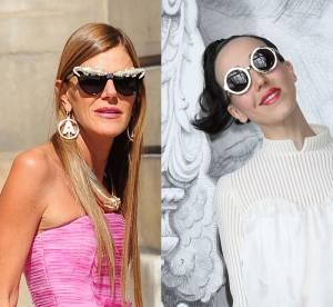 Anna Dello Russo et Michelle Harper : le bal des excentriques de la Fashion Week