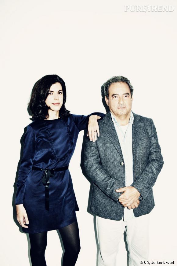 Vanessa Seward et Jean Touitou.