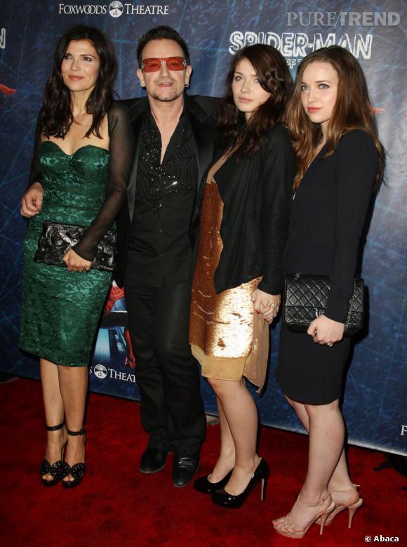 Qui ?  Memphis Eves Hewson, la fille de Bono du groupe U2 et Ali Hewson.       Son prénom ?  Nommée après la ville chérie d'Elvis Prestley, la demoiselle est une vraie fillede rockeur.