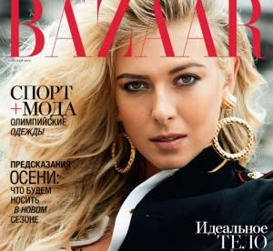 Maria Sharapova : la beauté russe s'offre les JO et le Harper's Bazaar cet été !