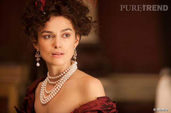 Keira Knigthley joue Anna Karenine dans le film réalisé par Joe Wright