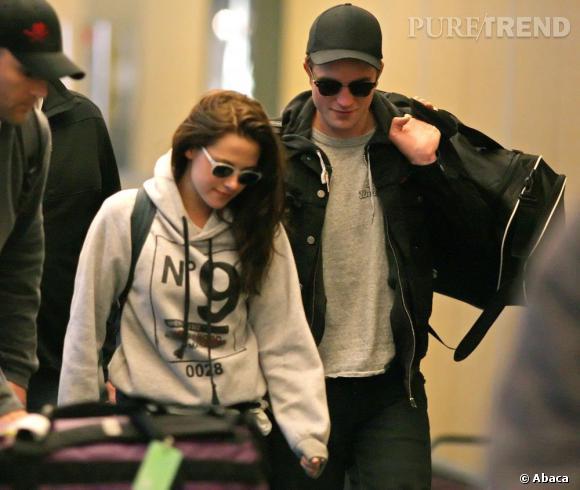 Kristen Stewart et Robert Pattinson inséparable à la ville comme sur red carpet.