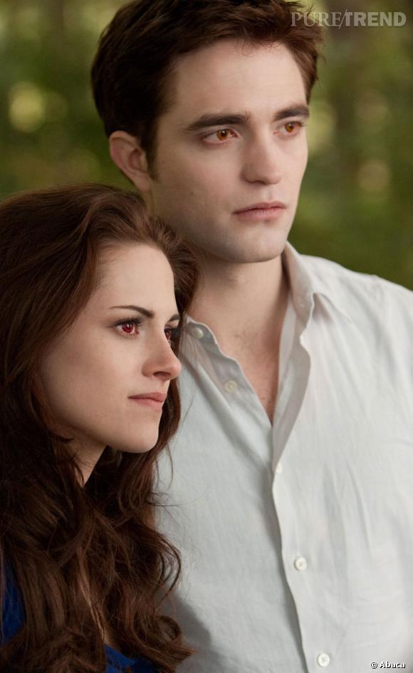 """Kristen Stewart et Robert Pattinson dans """"Twilight""""."""
