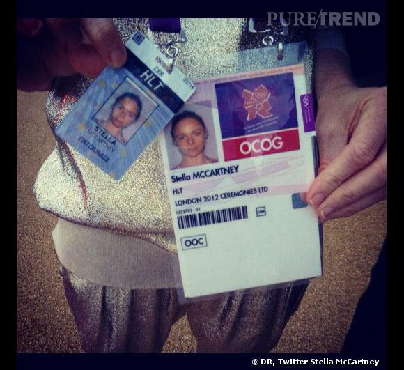 Les pass VIP de Stella McCartney.