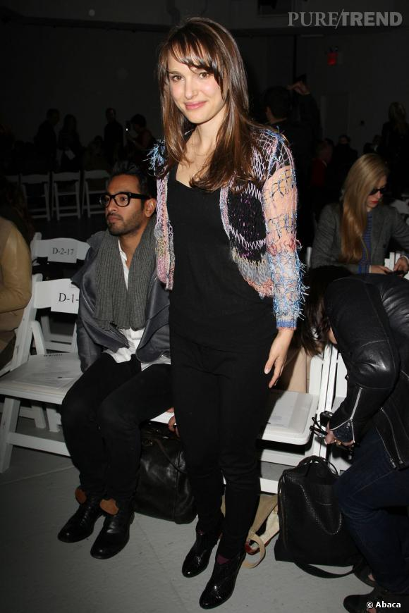 Natalie Portman dernièrement s'est rendue au défilé Rodarte. Un indice sur sa robe de mariée ?