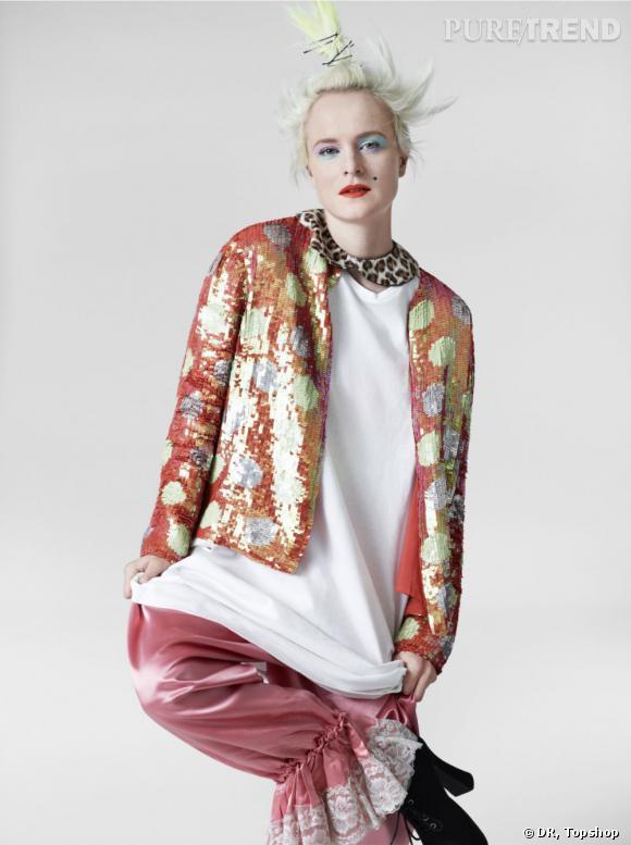 Collection Louise Gray pour Topshop.