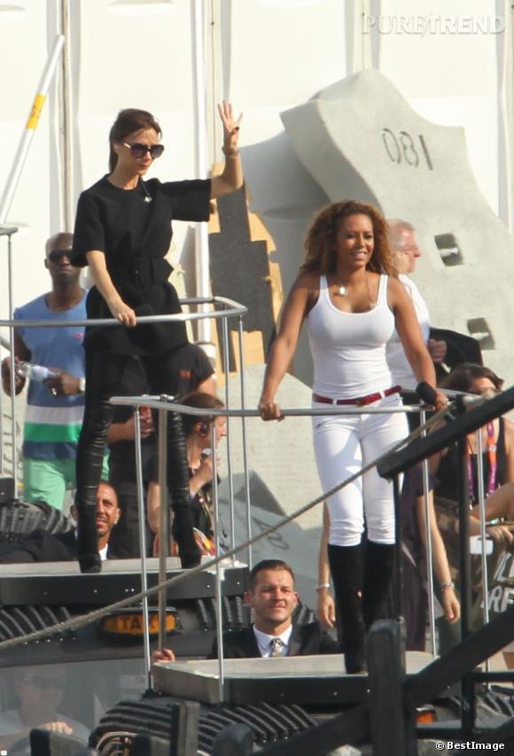 Les Spice Girls en répétitions pour leur ultime show, le 9 août dernier à Londres.