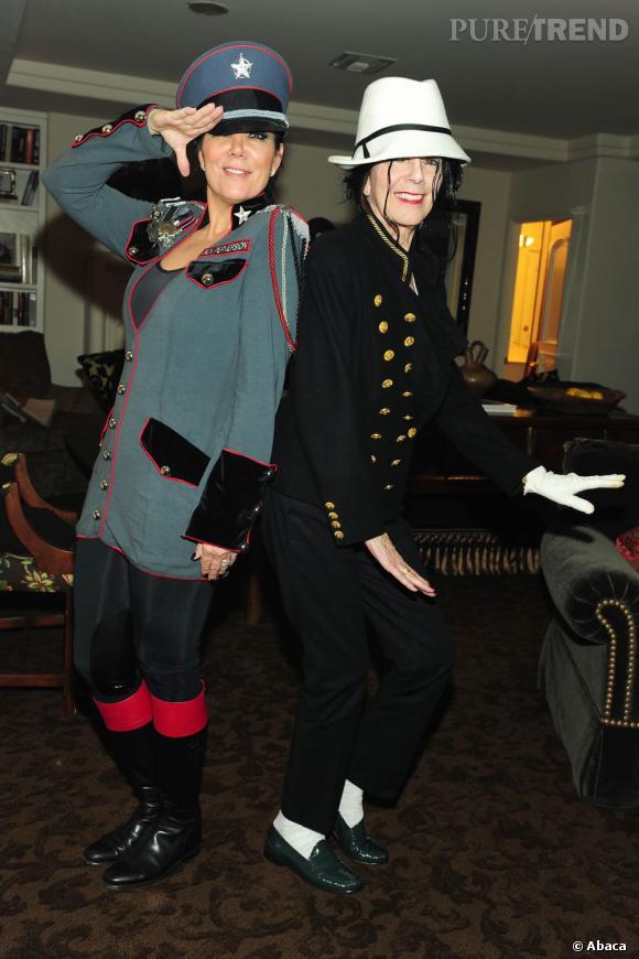 Kris Jenner et sa propre maman, on comprend mieux d'où vient l'allure de jeunette de Kris.