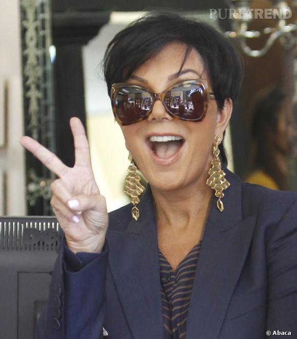 Kris Jenner, une momager qui ne semble pas prendre une ride.
