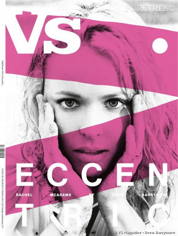 C'est Drew Barrymore qui a photographié Rachel McAdams pour le numéro d'automne de VS Magazine