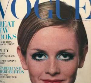 Vogue fait poser Twiggy en 1967.