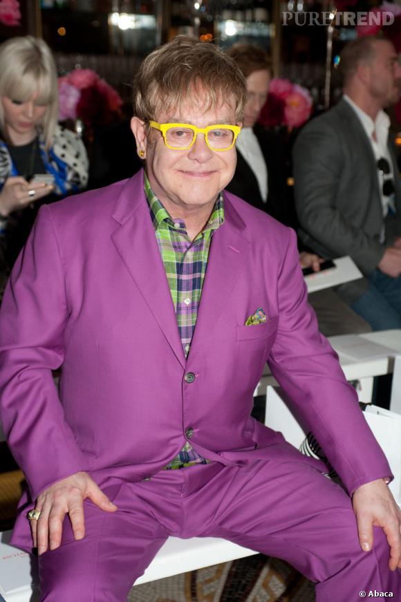 Qui ? Le grand oncle extravagant . On ne manque pas d'extravagant dans la famille, mais lui, il bat les records. Il ne porte que des costumes colorés, il parle fort, il a des lunettes multicolores et il aime seulement les musiques des années 80. C'est une boutique vintage à lui tout seul. Un rôle sur mesure pour Elton John non ?