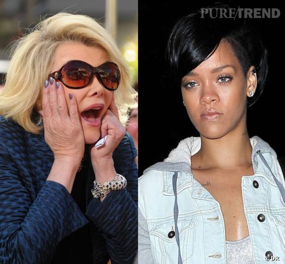 Joan Rivers s'en prend à Rihanna