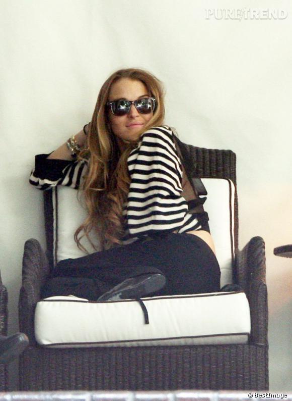 Endettée, Lindsay Lohan est interdite de séjour au Chateau Marmont.
