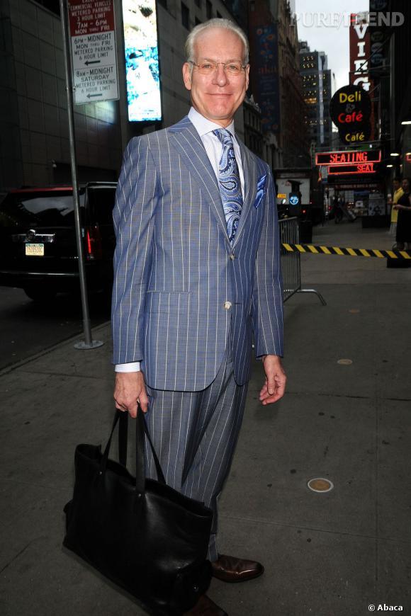 """Tim Gunn, un des jurés de """"The Project Runway"""", n'a d'ailleurs pas été tendre avec la star"""