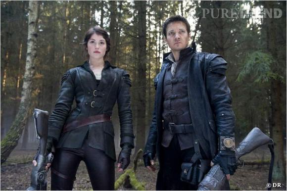 Gemma Arterton et Jeremy Renner incarnent les frères et soeurs d'Hansel & Gretel version film d'action.