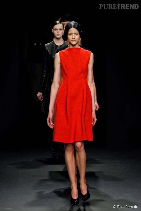 Défilé Calvin Klein Collection, Automne-Hiver 2012/2013.