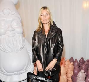 Kate Moss : une égérie de choix tout en Mulberry pour la Fashion Week