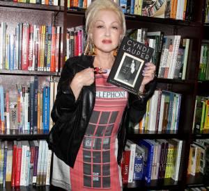 Cyndi Lauper au Barnes & Noble de New York le 18 septembre dernier.