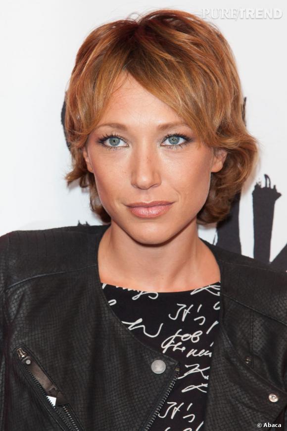 Laura Smet souligne son visage mutin d'une coupe courte décoiffée et d'une jolie couleur La ...