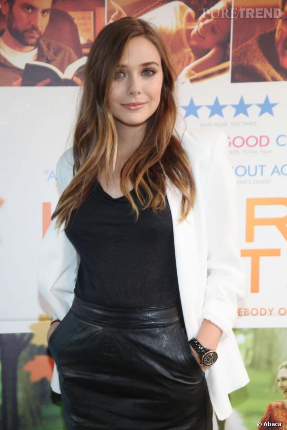 Elizabeth Olsen, mode en Asos et Topshop.