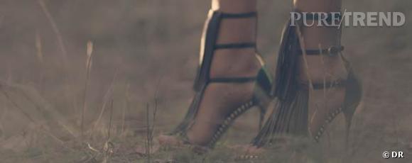 """""""The Search"""" de Drake Doremus pour Sergio Rossi."""