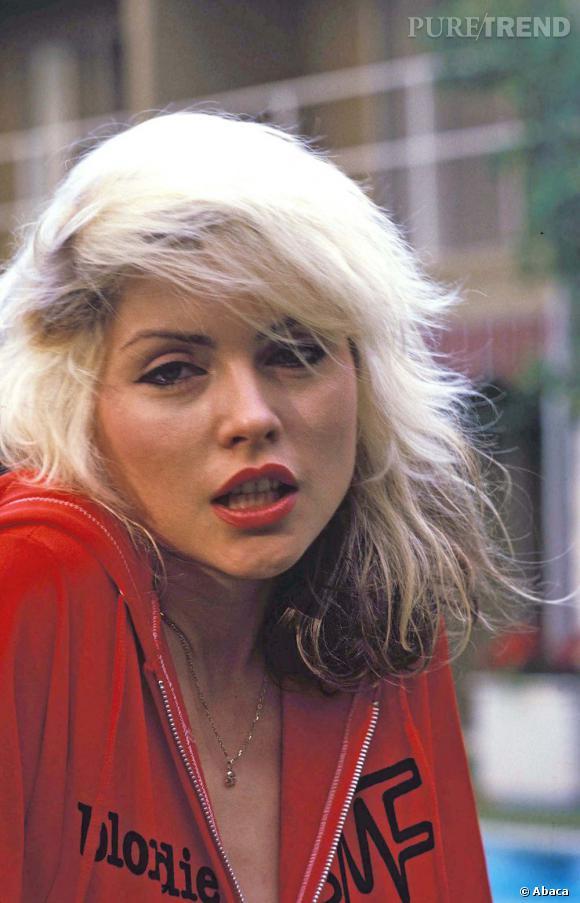 Debbie Harry de Blondie et son carré péroxydé culte.