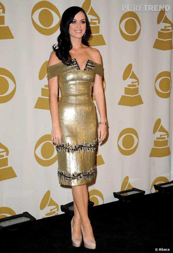 Katy est une femme en or et une habituée des records.