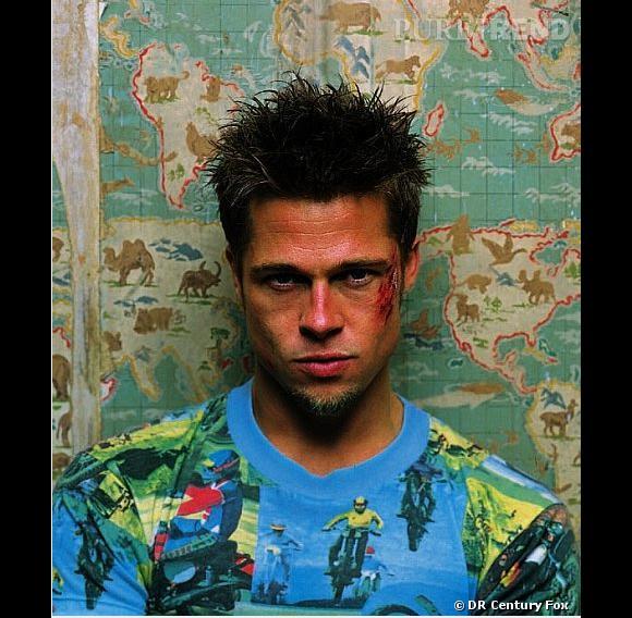 "David Fincher et Brad Pitt : 5 films. Photo de ""Fight Club""."