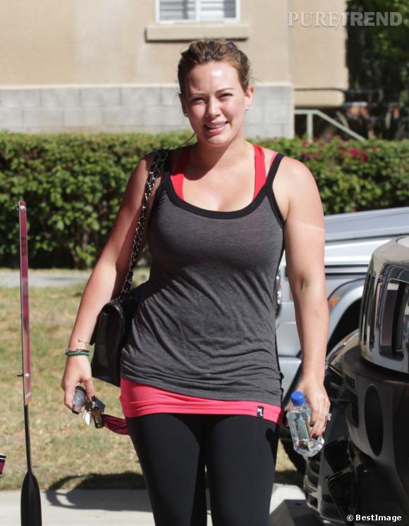 Hilary Duff dans les rues de Los Angeles le 2 octobre dernier.