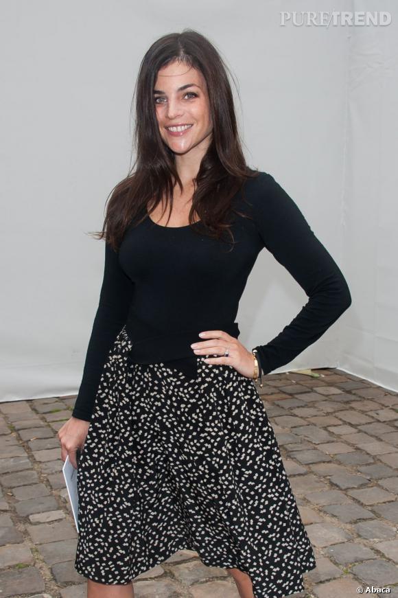 Julia Restoin-Roitfeld chez Louis Vuitton.