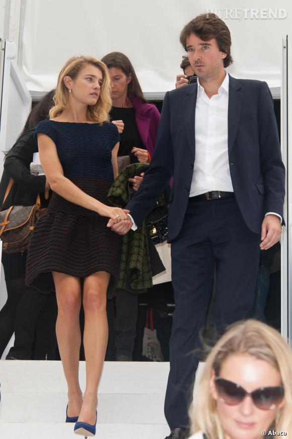 Natalia Vodianova au défilé Louis Vuitton.