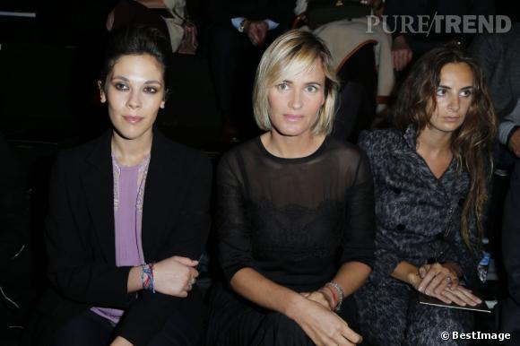 Alysson Paradis, Judith Godreche et Alexia Niedzielski très sages chez Elie Saab.