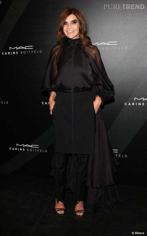 Carine Roitfeld, directrice mode du Harper's Bazaar.