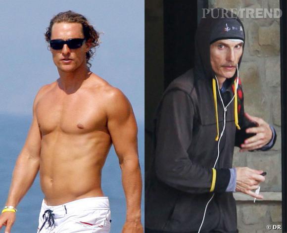 Matthew McConaughey fait partie de ces acteurs prêts à perdre de nombreux kilos pour un rôle.