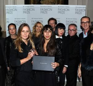 Augustin Teboul entourée du prestigieux jury du Dorchester Fashion Prize 2012.
