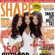 Kim, Kourtney et Khloe Kardashian, toujours très sexy lorsqu'il s'agit de poser en Une.