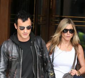 Jennifer Aniston : son fiancé Justin Theroux lui pique ses produits de beauté !