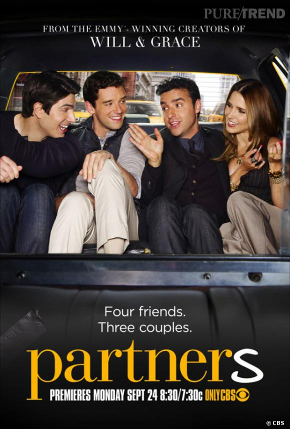 """Sophia Bush fait son grand retour sur le petit écran grâce à la série """"Partners"""", dans laquelle on retrouve aussi David Krumholtz de """"Numbers""""."""