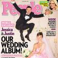 Jessica Biel et Justin Timberlake posent pour People.