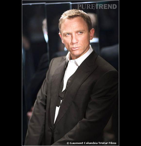 Daniel Craig, le premier James Bond blond de la franchise.