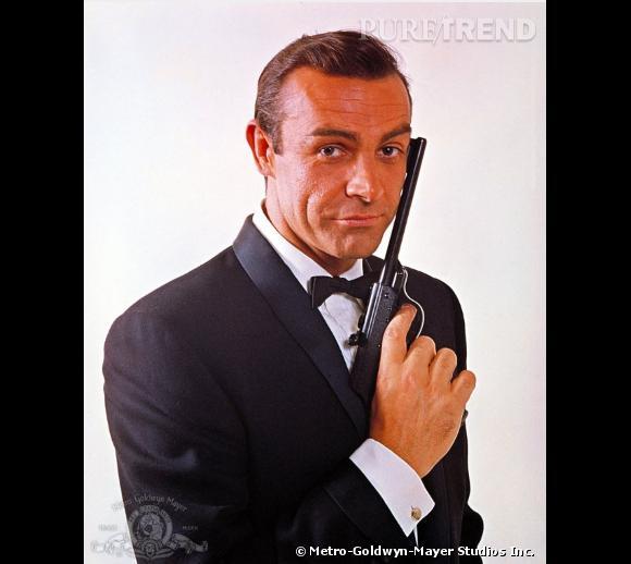 Sean Connery est le premier acteur a avoir incarné l'agent 007 à l'écran. Avec son brushing classe, il incarne un James Bond empreint d'élégance.