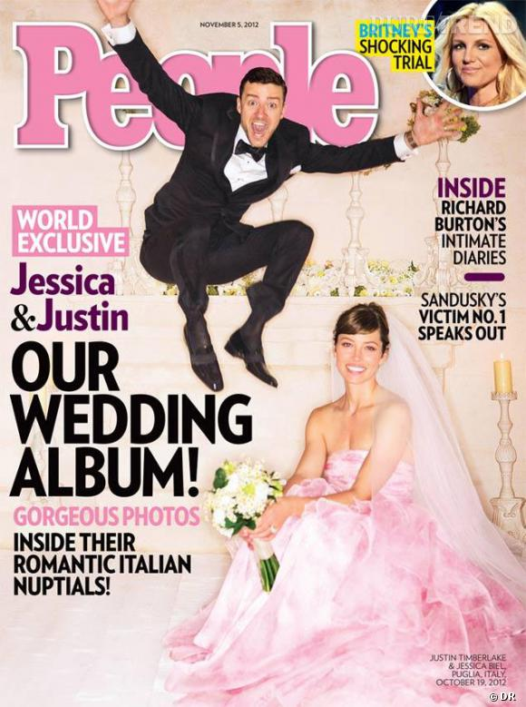 Jessica Biel et Justin Timberlake : 300 000 dollars pour leurs photos de mariage.