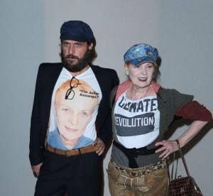 Vivienne Westwood affiche son soutien à Julian Assange